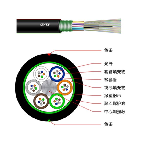 Layer stranded steel cable