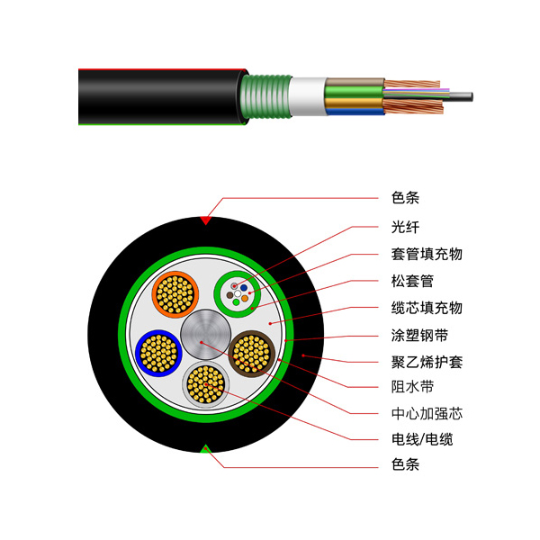 Photoelectric hybrid cable